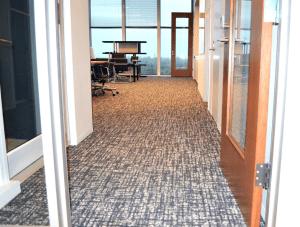 FSI Commercial Flooring for Corporate office & Hallways