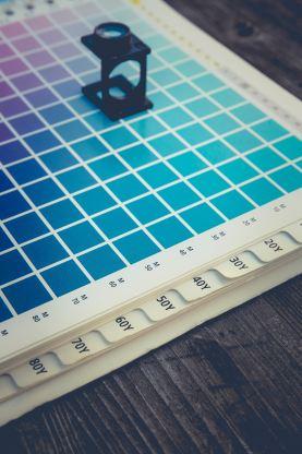 Blue Pantone colors