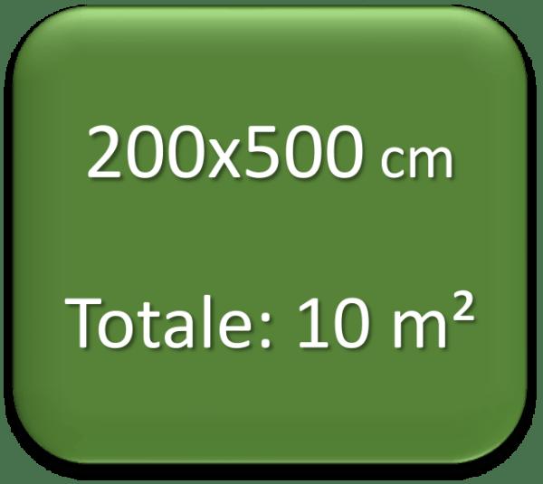 200x500 cm