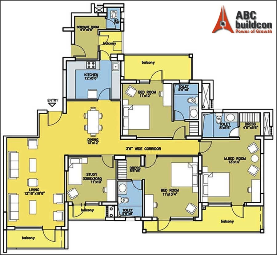 Bestech Park View City Floor Plan  FloorPlanin