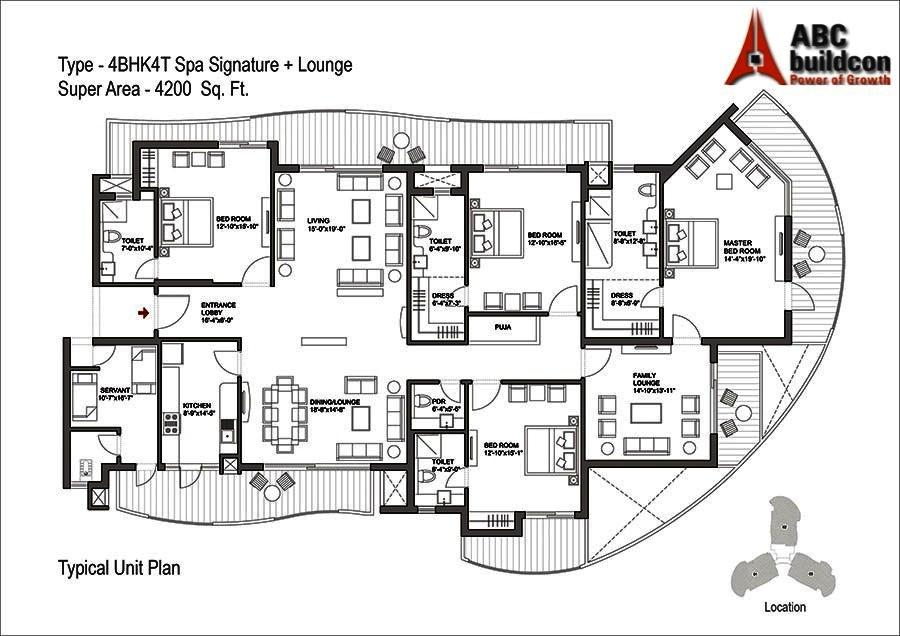 bestech park view grand spa floor plan - Spa Floor Plan