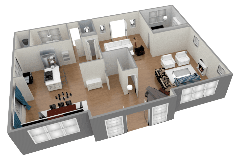 3D FloorPlans Seattle