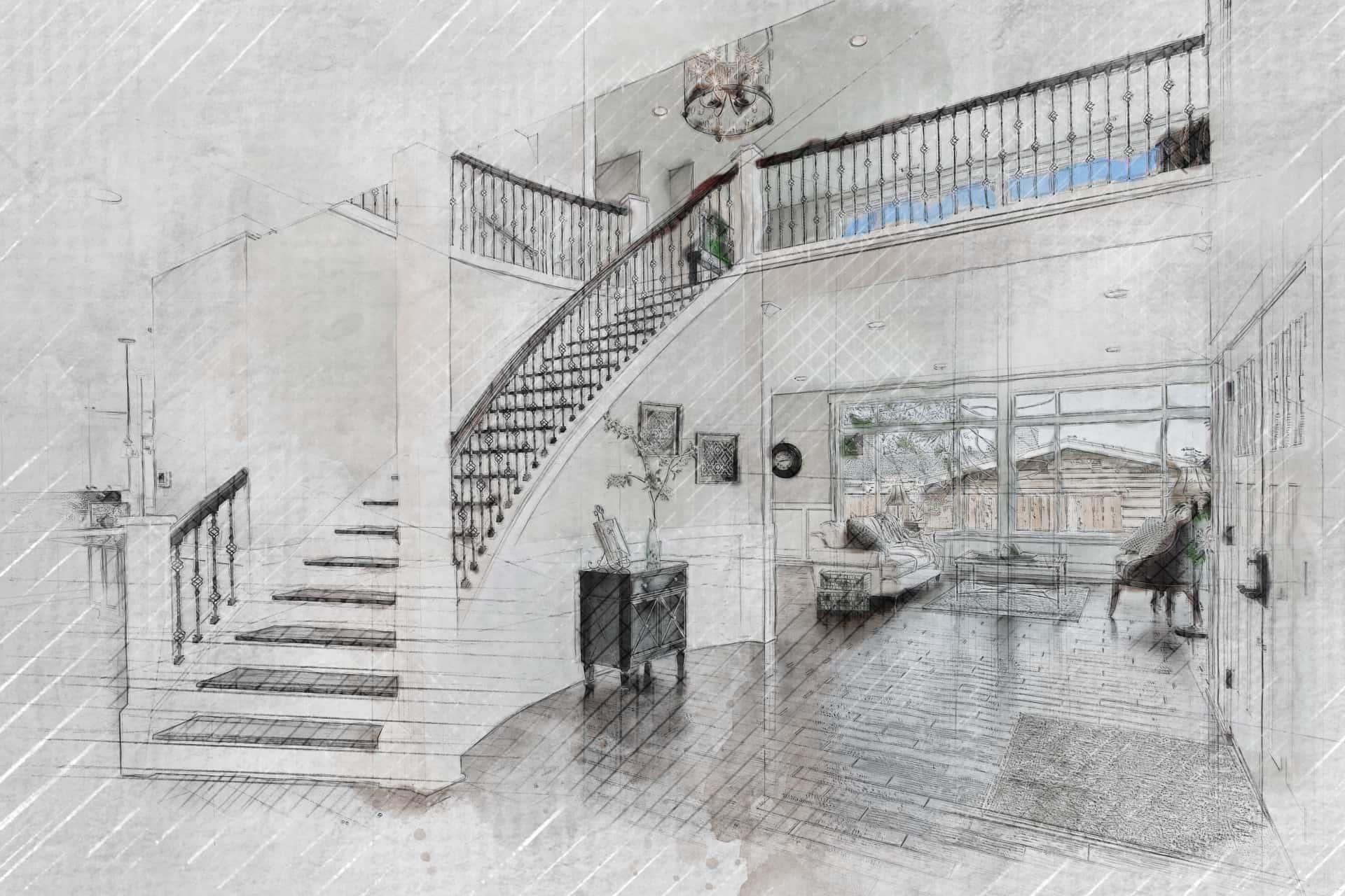After-Artistic Foyer Render