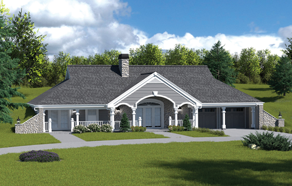 Stonehaven Berm Home Plan 007D 0161 House Plans And More