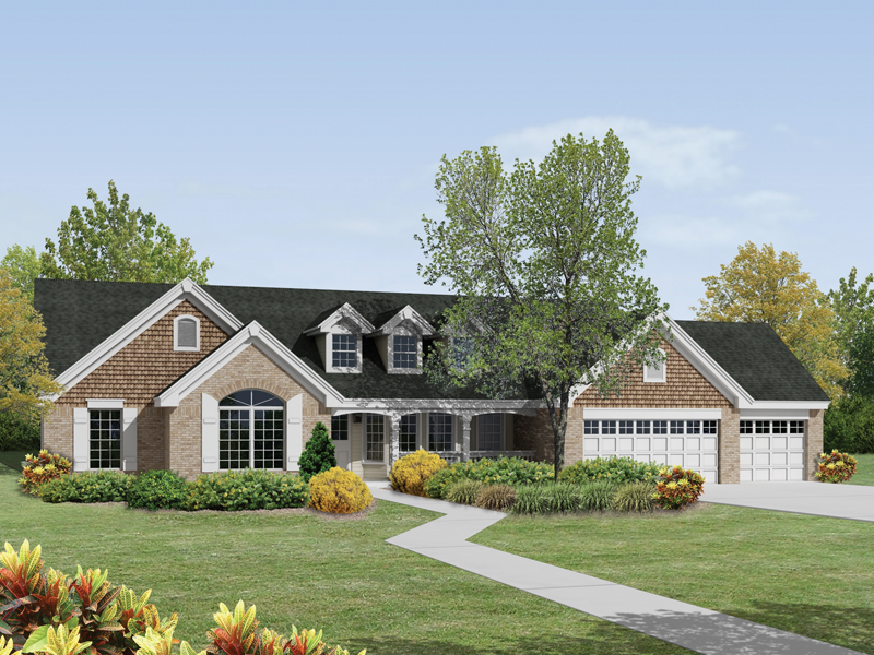 St Laurent Country Ranch Home Plan 007D 0174 House