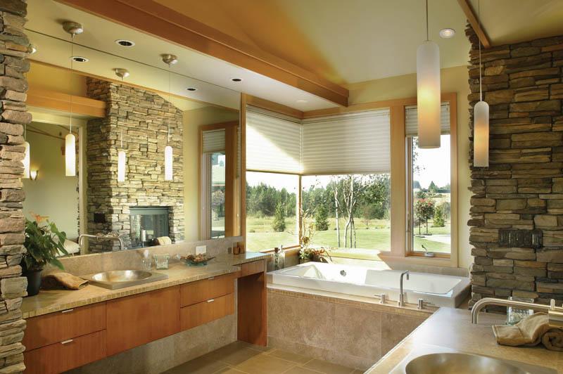 Luxury House Plan Master Bathroom Photo 02 Crane Grove
