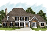 House Plans With Stone And Stucco