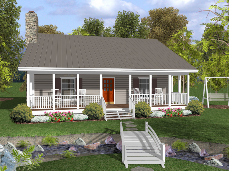 Canton Crest Ranch Home Plan 013D 0154 House Plans And More