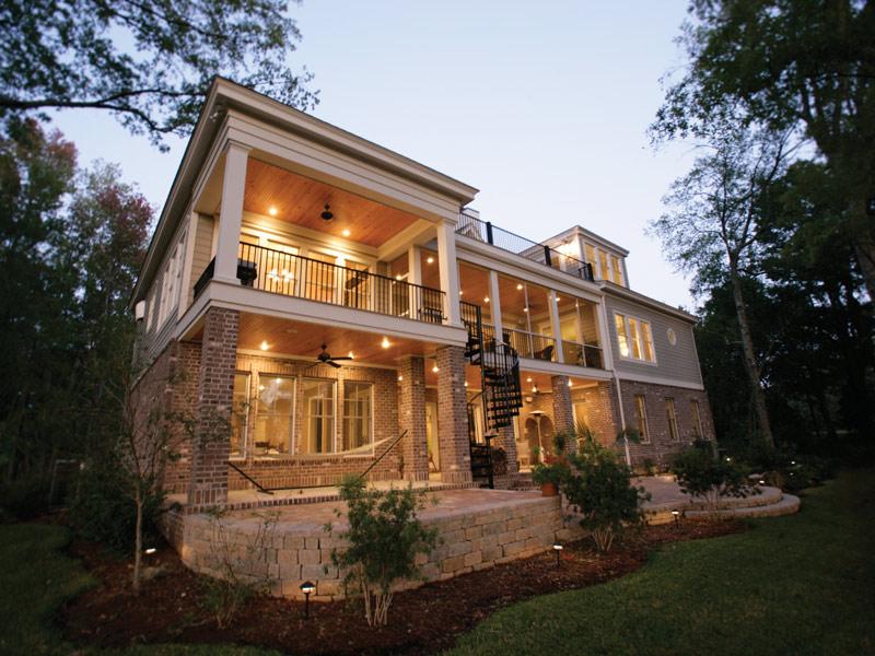 Home Floor Plans With Drive Under Garage