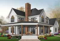 House Plans and Design: House Plans Two Story Porches