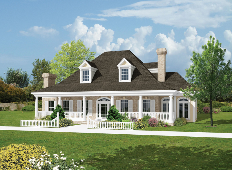 Salisbury Park Southern Home Plan 037D 0005 House Plans And More