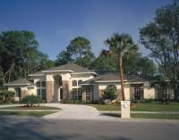 Palm Aire Adobe Style Home Plan 047D-0046 | House Plans ...