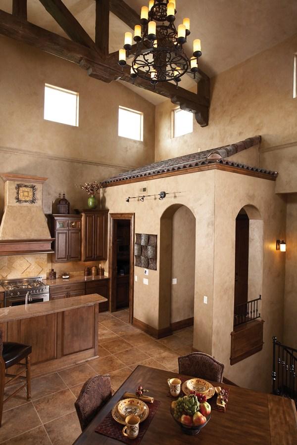 Monteleone Italian Ranch Home Plan 051d-0669 House Plans