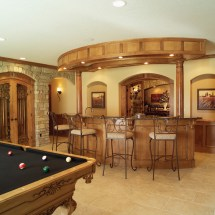 House Plans with Pool Bar