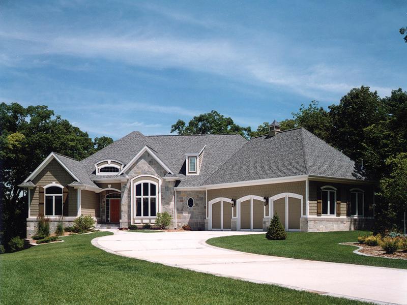 Sanderson Manor Luxury Home Plan 051S-0060