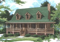 Falais Rustic Country Home Plan 052D