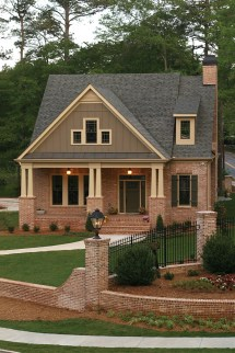 Brick Craftsman Style House Plans
