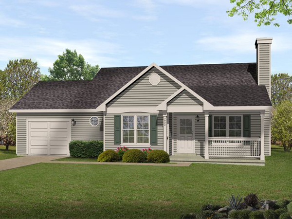 Marley Ranch Home Plan 058D0187  House Plans and More