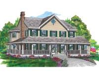 Cornfeld Traditional Farmhouse Plan 062D-0042 | House ...
