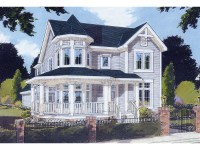 Saguenay Victorian Home Plan 065D-0200 | House Plans and More