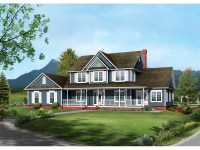 19 Delightful 2 Story Farmhouse Plans