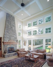 Windows House Plans with Great Rooms