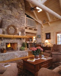 Rustic House Plans with Fireplace