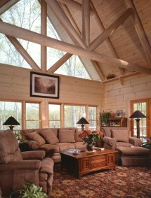 Sitka Rustic Country Log Home Plan 073d-0021 House Plans