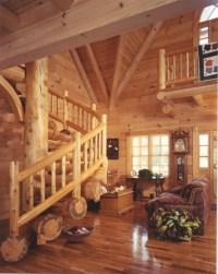 Cheyenne Creek Rustic Log Home Plan 073D-0032 | House ...