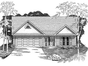 traditional plan ranch drawings plans floor architect simple layout ranchwood houseplansandmore 076d designed