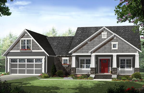Kadina Craftsman Home Plan 077D-0219