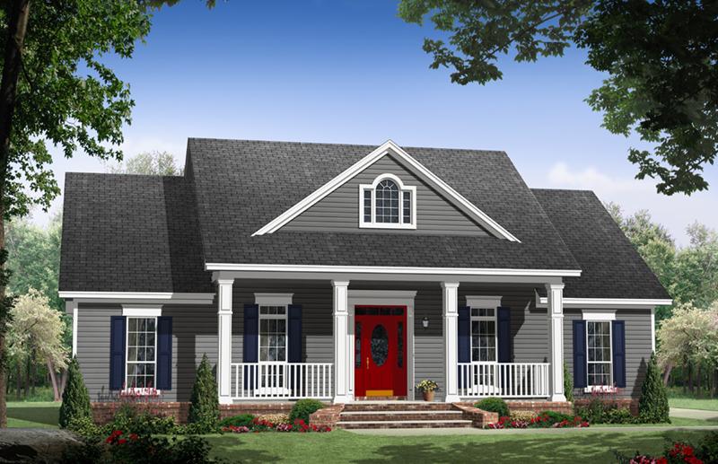 Iris Court Country Farmhouse Plan 077D-0251