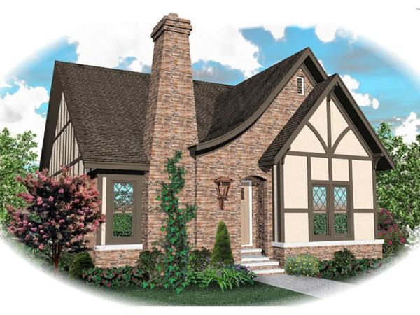 Apollo Hill Tudor Cottage Home Plan 087D