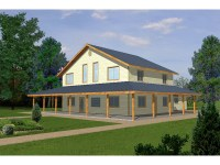 Milton Creek Country Home Plan 088D-0115 | House Plans and ...