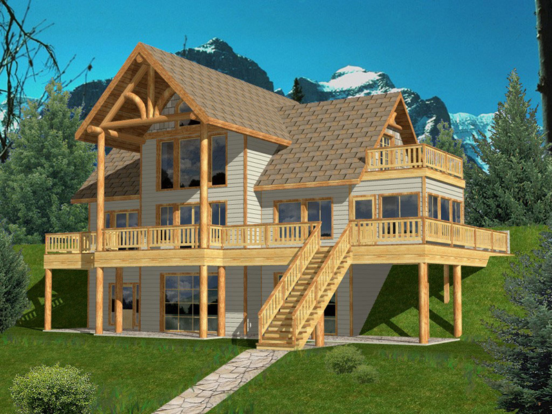 Hominy Creek Lake Home Plan 088D 0147 House Plans And More