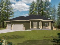 Ranch House Plans With Covered Porch | Joy Studio Design ...