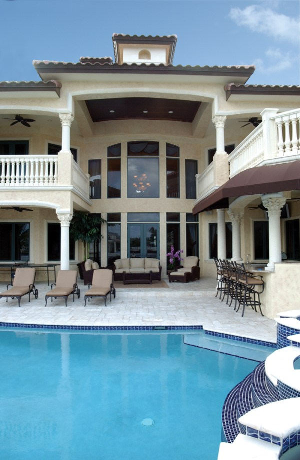 Luxury House Plans with Pools
