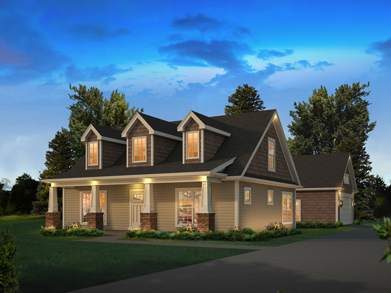 Lily Country Craftsman Home Plan 121D 0050 House Plans
