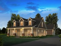 Lily Country Craftsman Home Plan 121D-0050 | House Plans ...