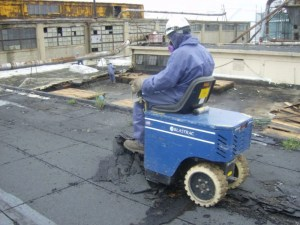 We provide flooring removal services using the latest ride-on flooring removal and shot blaster equipment.