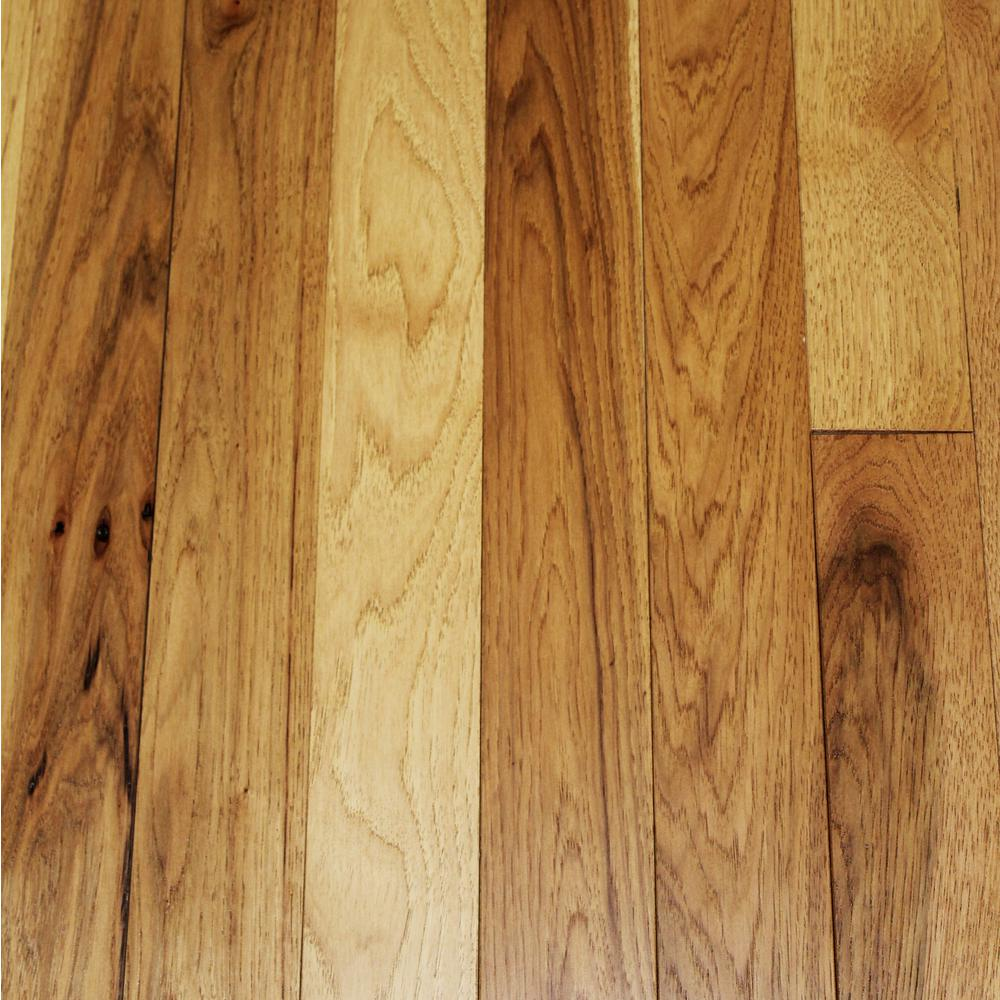 Blc Hardwood Flooring Wire Brushed Tanned Hickory  Floor