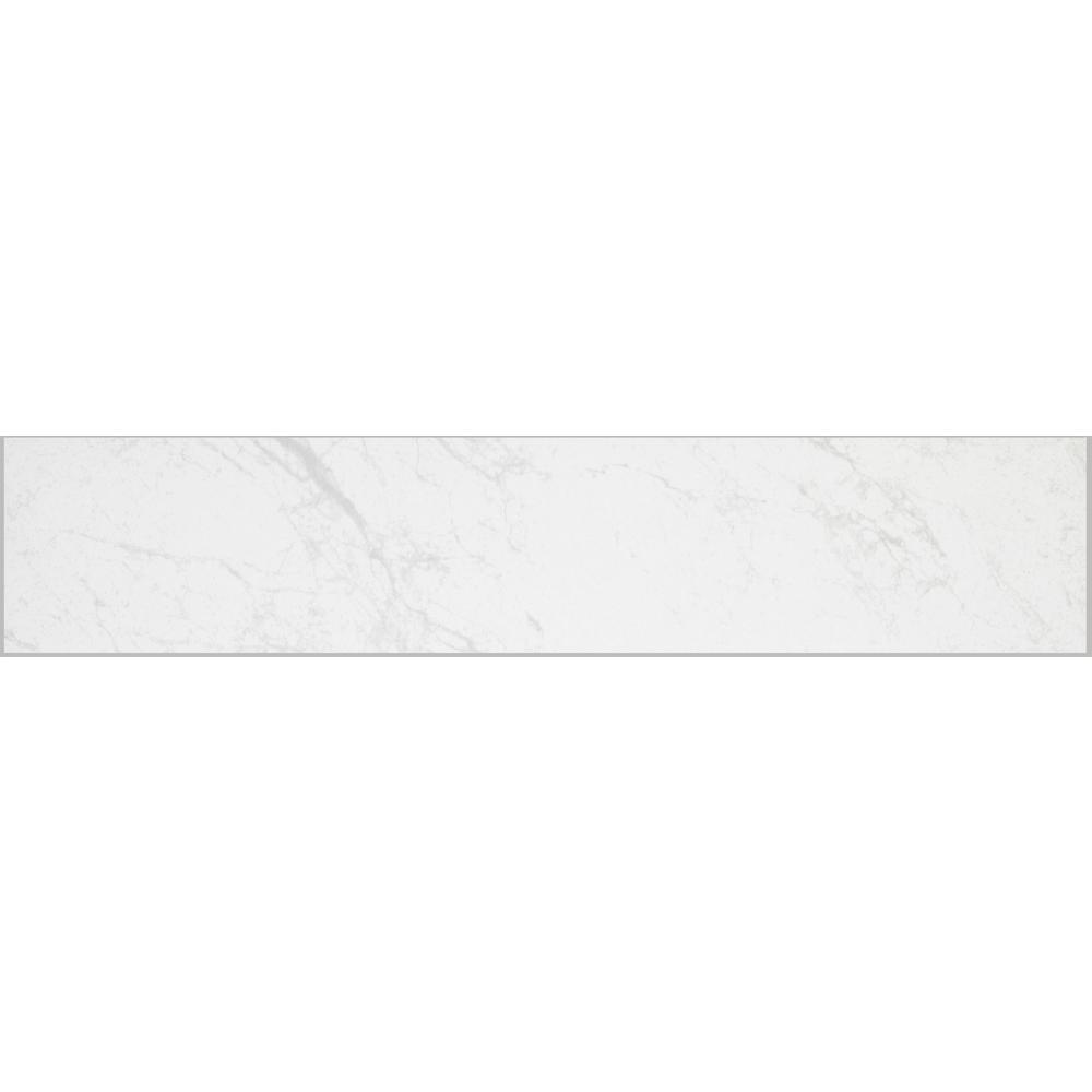 florida tile home collection brilliance white porcelain floor and wall bullnose tile