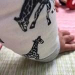 赤ちゃんとユニット畳を写真に納める!