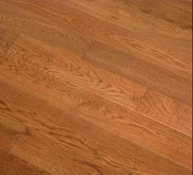 FloorUScom  34 Solid Hardwood Oak Floor Golden Wheat