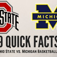 9 Quick Facts on the OSU vs. Michigan Basketball Rivalry