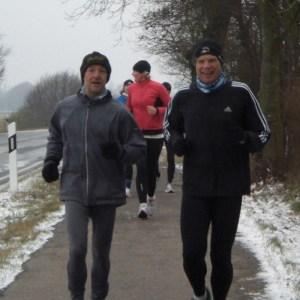 Gruppenlauf Fri Ööwingsfloose, TSV Goldebek und Lauftreff Waldorfschule Flensburg