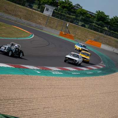 FRANCE, MAGNY-COURS, 2021/06/27. The Circuit de Nevers Magny-Cours hosts the 14th edition of the Classic Days. Florian Jannot-Caeillete / APJ / Hans Lucas.FRANCE, MAGNY-COURS, 2021/06/27. Le Circuit de Nevers Magny-Cours accueille la 14eme edition des Classic Days. Florian Jannot-Caeillete / APJ / Hans Lucas.