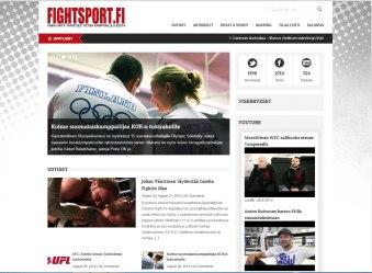 Fightsportin verkkosivusto fightsport.fi
