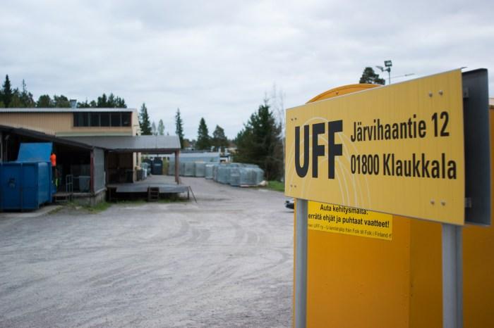 UFF-lajittelukeskus, Klaukkala