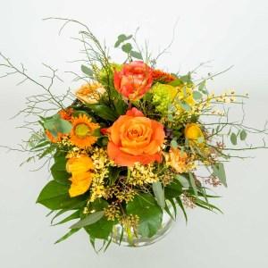 Warmer Frühlingsstrauss von Flora Tina